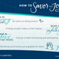How to Maximize Your Joy!