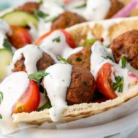 Recipes from Olu's staff - Sylvia's Falafels!
